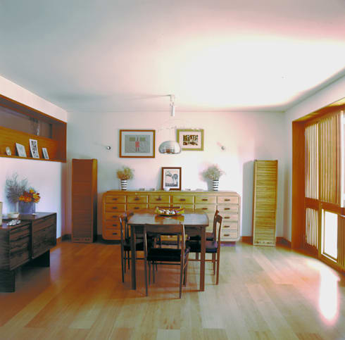 Sala: Salas de jantar modernas por Borges de Macedo, Arquitectura.