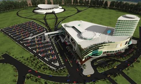Lagos Theatre Mall & Otel:   by Maviperi Mimarlık