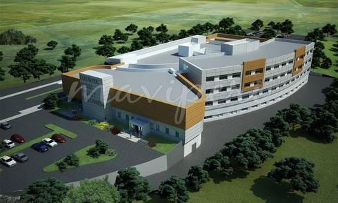 Kütahya Gediz 75 Yataklı Devlet Hastanesi:   by Maviperi Mimarlık