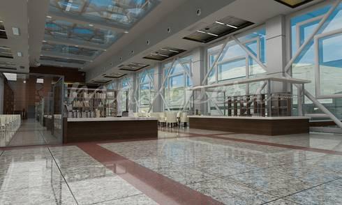 Bilecik YHT İstasyon Binası:   by Maviperi Mimarlık
