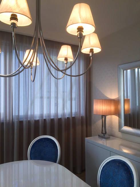 PAREDE: Salas de jantar clássicas por Stoc Casa Interiores