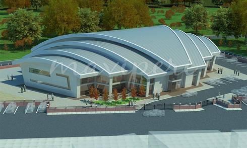 Bülent Ecevit Üniversitesi Yüzme Havuzu ve Sosyal Tesisi:   by Maviperi Mimarlık