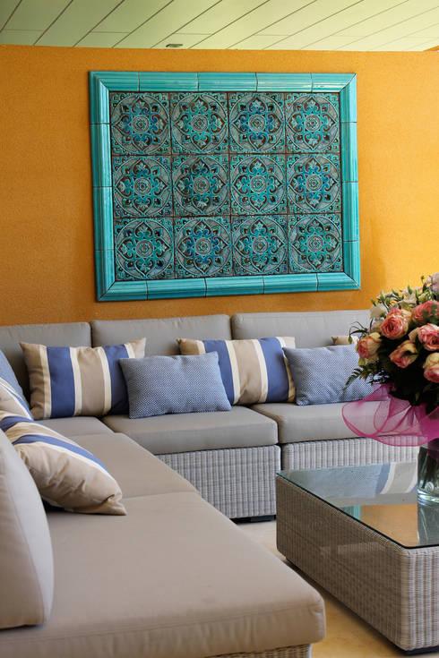 Living room by Gvega Ceramica