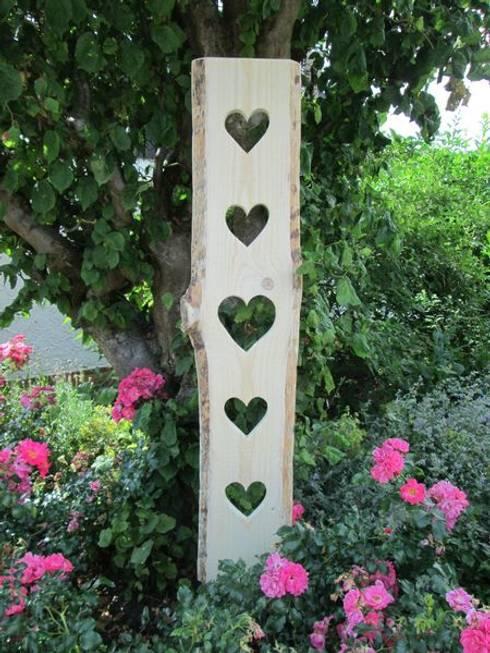 Jardines de estilo rústico por HolzArt Thorsten Grombach