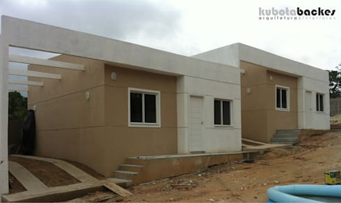 Residencia Multifamiliar KB:   por Kubota & Backes