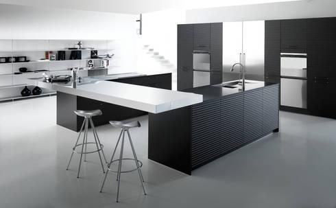 Avantgarde 2: Cocinas de estilo moderno por ARCE MOBILIARIO