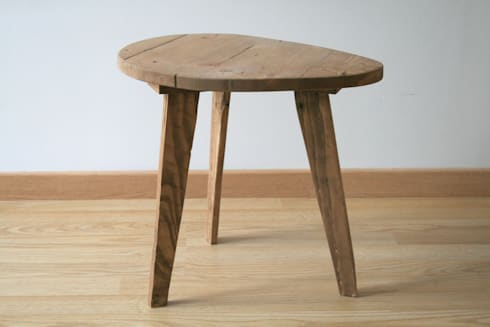 Table de chevet petite table basse en bois de r cup ration by charles 39 - Petite table de chevet ...