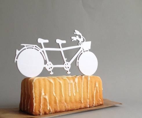 topo de bolo: Arte  por bichos da madeira