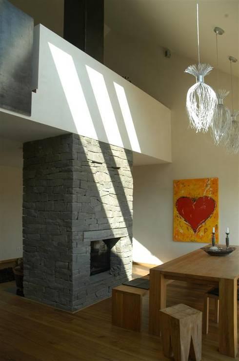 Projekty,  Jadalnia zaprojektowane przez Noesser Padberg Architekten GmbH