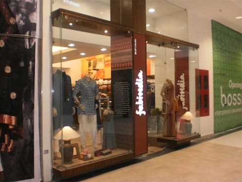 Fabindia at Phoenix Mall, Bangalore:  Offices & stores by Parikshit Dalal Design + Architecture