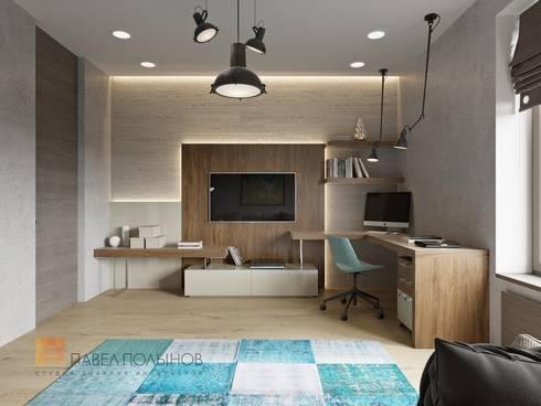 Интерьер квартиры в стиле минимализм, 165 кв.м.: Детские комнаты в . Автор - Студия Павла Полынова