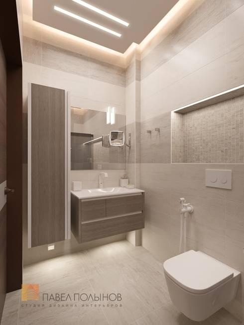 Baños de estilo minimalista por Студия Павла Полынова