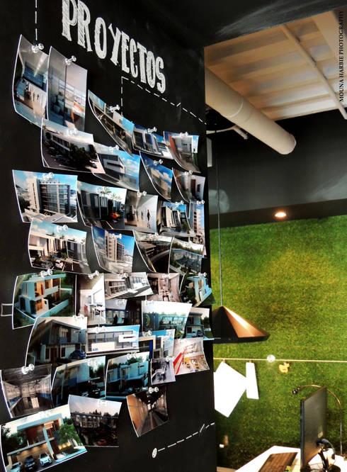 Proyectos: Tiendas y espacios comerciales de estilo  por RL+N Arquitectura