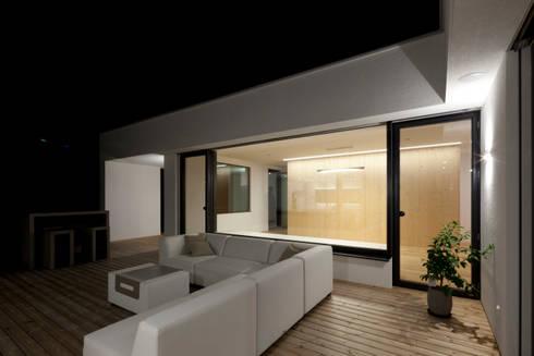 Moderner Bungalow mit Atrium von PASCHINGER ARCHITEKTEN ZT KG | homify