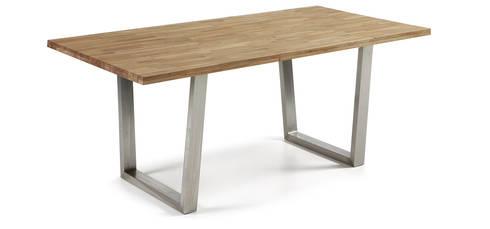 Mesas de refeições Dining tables www.intense-mobiliario.com  Carter http://intense-mobiliario.com/product.php?id_product=4293: Sala de jantar  por Intense mobiliário e interiores;