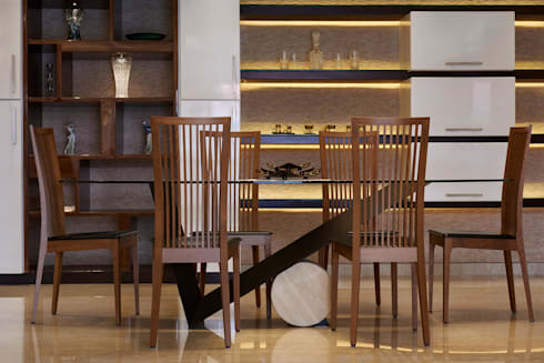 Apartment at Tirupur: modern Dining room by Cubism