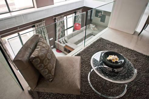 Show Apartment:  Corridor & hallway by Studio A