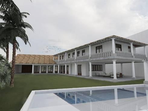 Casa Pérez Rechi: Casas de estilo moderno por Alterno