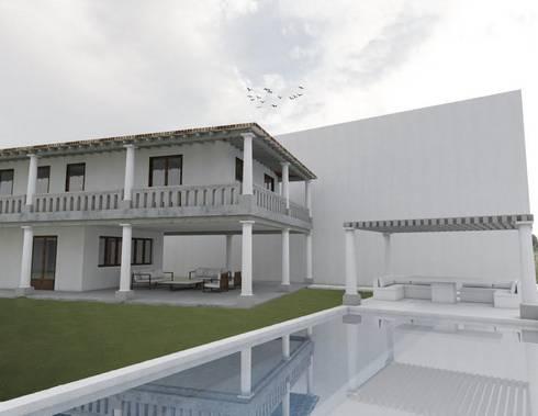 Casa Pérez Rechi: Comedores de estilo moderno por Alterno