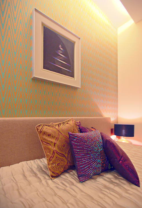 Show Apartment: modern Bedroom by Studio A