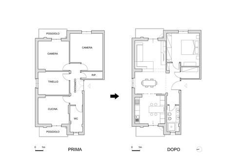 Ristrutturazione Di Appartamento Di 70 Mq A Savona: In Stile Di Francesco  Mantovani Architetto