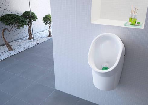urinol Like sem água: Casa de banho  por Sanindusa