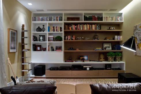 CASA DAS ARTES: Salas multimídia modernas por silvana albuquerque arquitetura e design