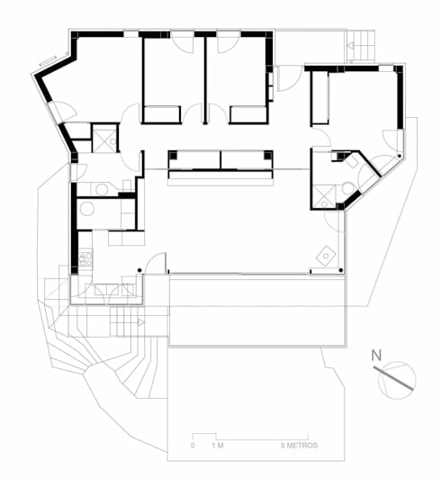 CASA CANELIÑAS: Casas de estilo  de MIGUEL VARELA DE UGARTE, ARQUITECTO