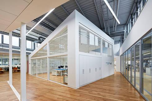 erweiterung nazha neues ausbildungszentrum harting von zenon concept gmbh homify. Black Bedroom Furniture Sets. Home Design Ideas