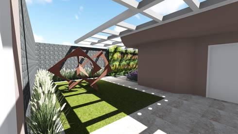 Entrada: Jardins modernos por Studio²