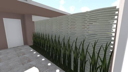 Entrada principal: Jardins modernos por Studio²