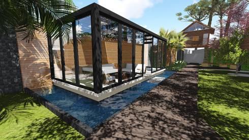 Estar e Spa: Jardins modernos por Studio²