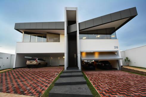 Casa AE: Casas modernas por Arquitetura 1