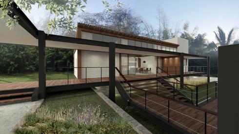 Casa ZED: Casas modernas por BORA Arquitetos Associados