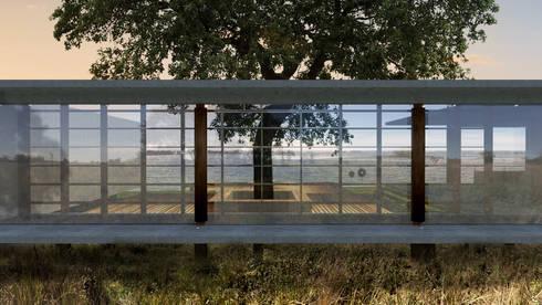 Casa RR: Casas modernas por BORA Arquitetos Associados