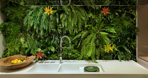 Cozinha Gourmet Casa Cor ES: Cozinhas modernas por daniela andrade arquitetura