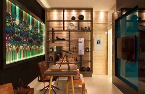 Home Office Casa Cor: Escritórios  por daniela andrade arquitetura