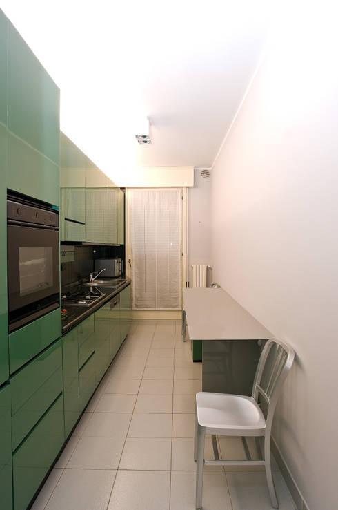 Projekty,  Kuchnia zaprojektowane przez cristina mecatti interior design