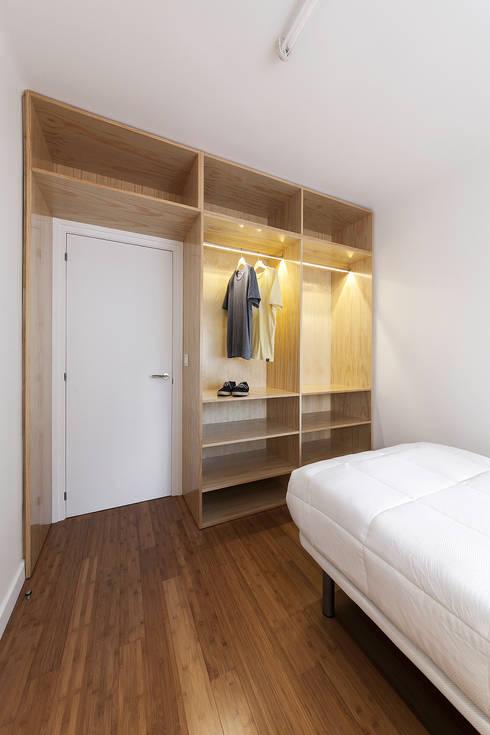 Nan Arquitectos:  tarz Yatak Odası