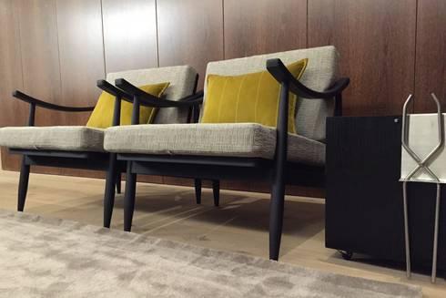 INTERIOR DESIGN: Salas de estar modernas por PAULA NOVAIS ARQUITECTOS E DESIGN
