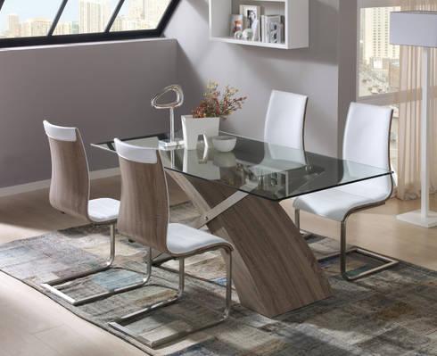 Todos a comer ideas en mesas y sillas de merkamueble homify - Merkamueble sillas ...