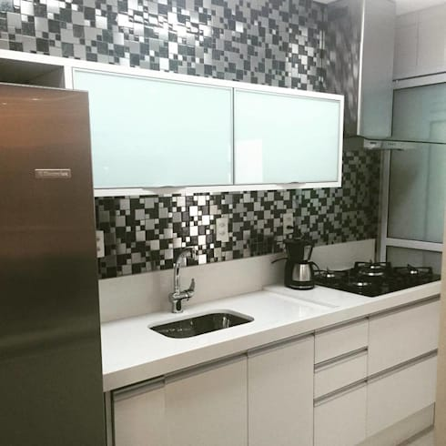 Projeto: Cozinhas modernas por Drika Passos Design