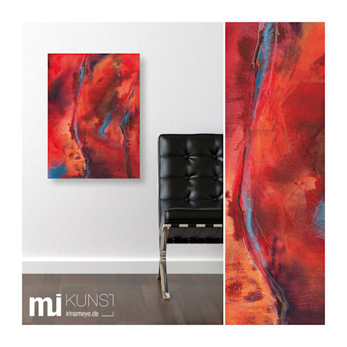 original abstrakte kunst moderne malerei auf leinwand mother earth von mi irina meye kunst. Black Bedroom Furniture Sets. Home Design Ideas