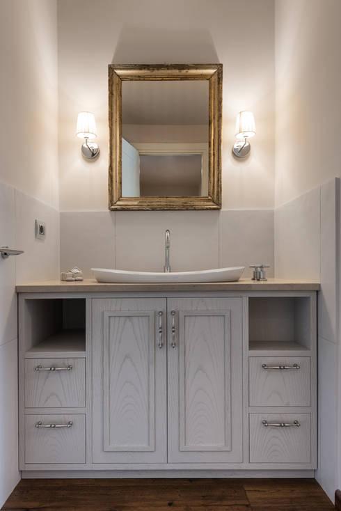 Baños de estilo  por Melissa Giacchi Architetto d'Interni