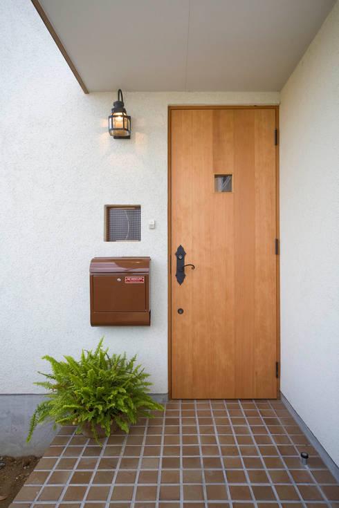 Maisons de style de style eclectique par 大森建築設計室