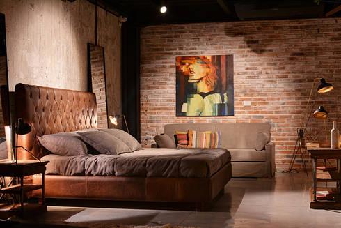 Showroom: Habitaciones de estilo moderno por The Blue House