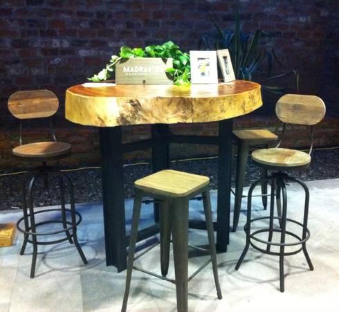 Muebles sobre diseño: Comedor de estilo  por MADRASTRA