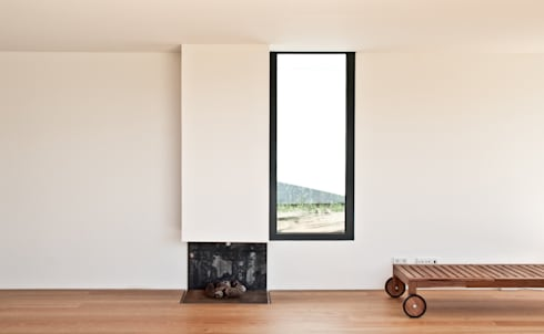 Casa de Cerveira: Salas de estar modernas por Dinis Sottomayor Photography