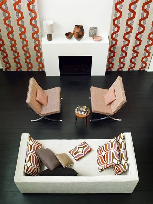 Sala de estar  por Emporio del Tessuto