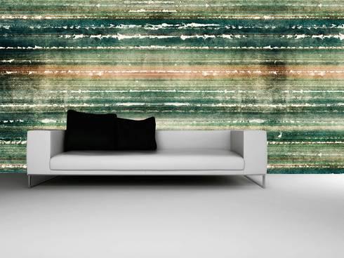 HF050-Tissue: Salas de estar clássicas por House Frame Wallpaper & Fabrics